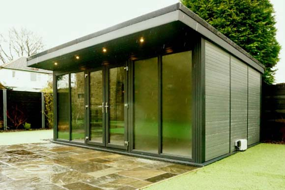 Natural Look Garden Offices Timber Alternative Birmingham