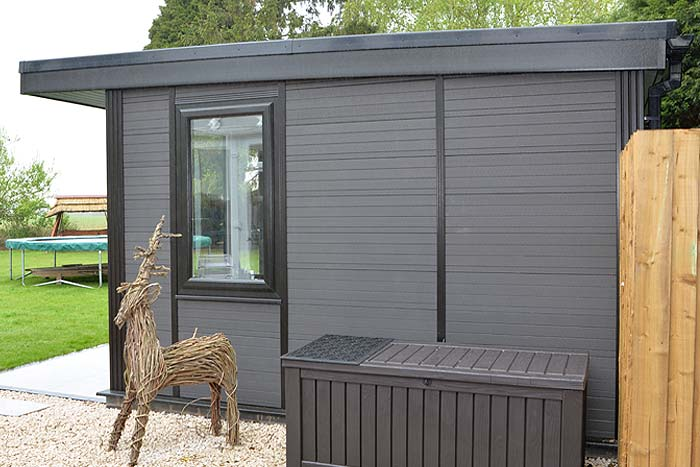 Timber Effect Natural Look Garden Rooms