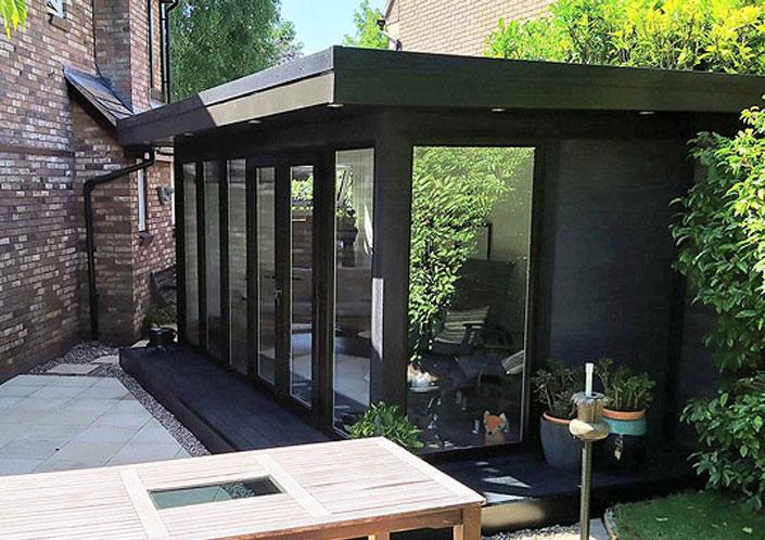 Timber Alternative Garden Studio Cardiff
