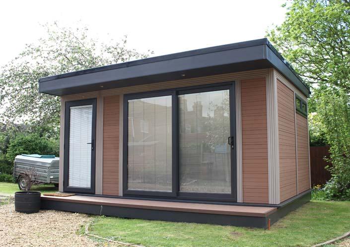 Timber Alternative Garden Studio Milton Keynes