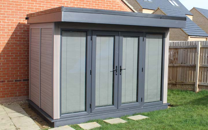 Composite Garden Buildings Garden Offices Nottingham