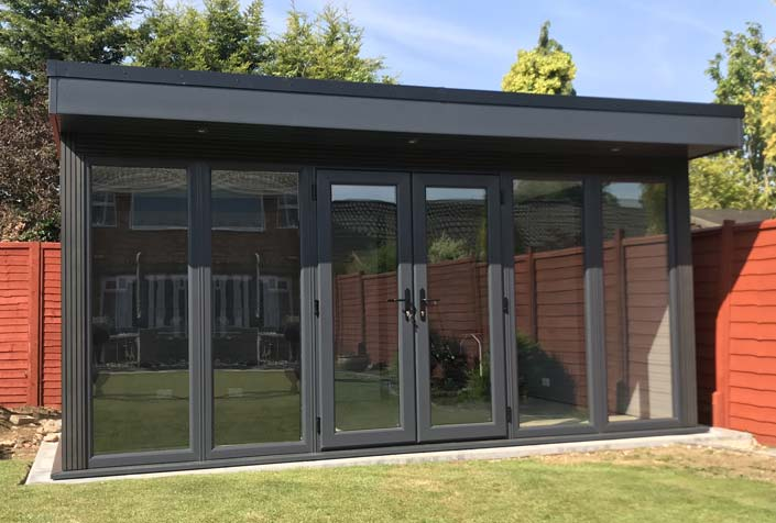 High Security Contemporary Garden Rooms Nottingham