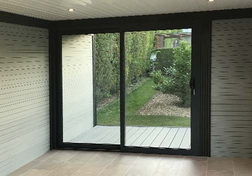 Garden Room With Patio Doors
