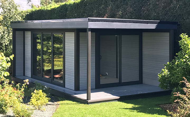 May offer 10 off garden rooms studios and retreats from for Modular garden rooms