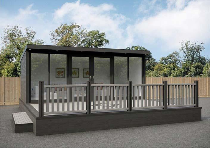 Garden studios bespoke garden studios composite garden for Garden studio uk
