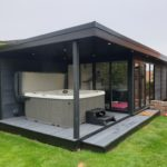 6mX3m Double Canopy Garden Room External