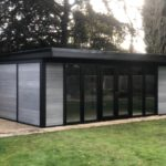 Ashmere Composite Garden Building With Full Glaze And Double Doors