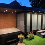 Garden Room Night Jacuzzi Wraped