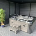 Jacuzzi In Compesite Patio