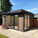 Sunny Garden Room Doors Open