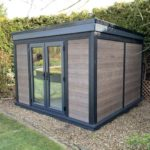 An Ashmere Composite Garden Building Residing In A Rural Garden Space