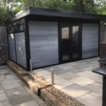 Ash Styled Garden Room Matching Slabs