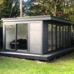 Ashmere Composite Garden Building With Full Front And Side Glazing