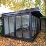Ashmere Composite Garden Building With Glass Throughout Front And Side