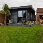 Ashmere Composite Garden Building With Glazing Along Side And Front