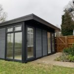 Ashmerecomposite Garden Building In Residential Garden