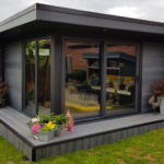 Bespoke Upgraded Composite Garden Building With Large Windows