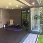 Bi Fold Doors Open Summer Lights