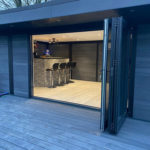 Bi Fold On Garden Room Man Cave