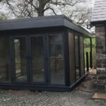 Black Composite Garden Room
