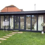 Bridal Company Working From Garden Room