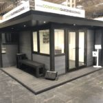 Composite Garden Building Featured In A Showroom