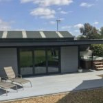 Composite Garden Building With Canopy Hot Tub Shelter