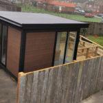 Covid Pod Garden Building In Durham 1