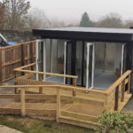 Covid Pod Garden Room For Care Home In Durham 1