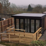 Covid Pod Garden Room For Care Home In Durham