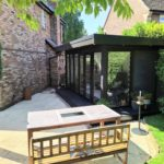 External Shot Garden Room In Northampton