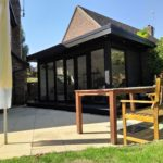 External Shot Garden Room In Northampton Grey Outer