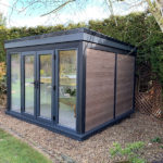 External Shot Of Garden Room Woodgrain