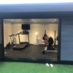 Fitness Zone In Garden Room