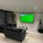 Football In Garden Room
