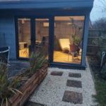 Full Height Window French Doors Garden Room