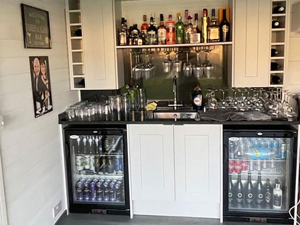 Garden Room Bar Area
