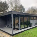 Garden Room Bar In Grey
