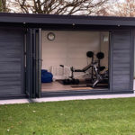 Garden Room Gym In Cardiff