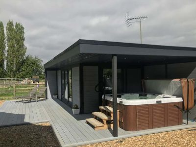 Garden Room Hot Tub Shelter
