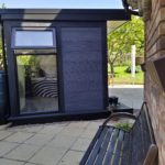 Garden Room In Northampton With Full Height Opening Window