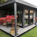 Garden Room With Dividing Wall And Single Canopy 2