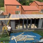 Garden Room With Double Canopy Storage Space And Insulated Roof
