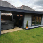 Garden Room With Flyover But No Side Decking