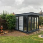 Garden Room With Full Height Corner Windows