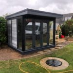 Garden Room With Full Height Glass To Front