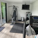 Gym Concept Garden Room