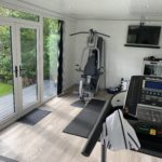 Gym Garden Room With Tv Mount