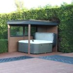 Hot Tub Space With Decking