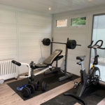 Inside Garden Room Gym In Cardiff